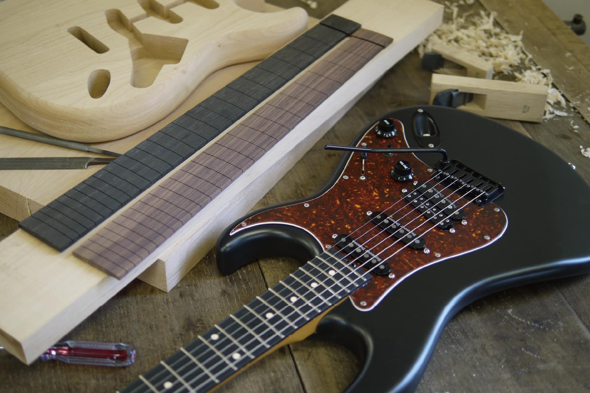 ギター/ベース製作コース【 ボルトオン】