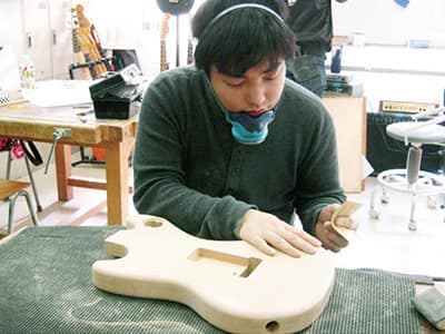 ボルトオンギター&ベース製作コース