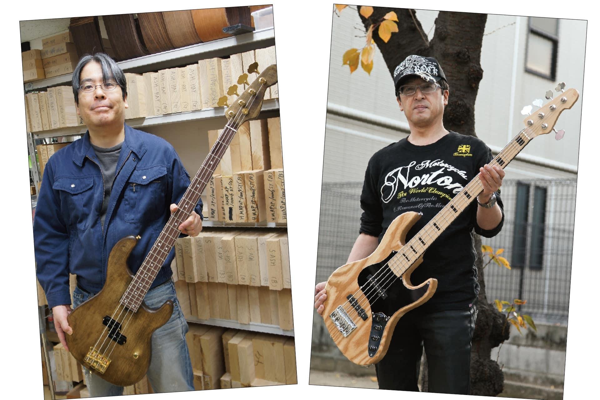 ギター/ベース製作コース【フルオリジナル・ボルトオン】